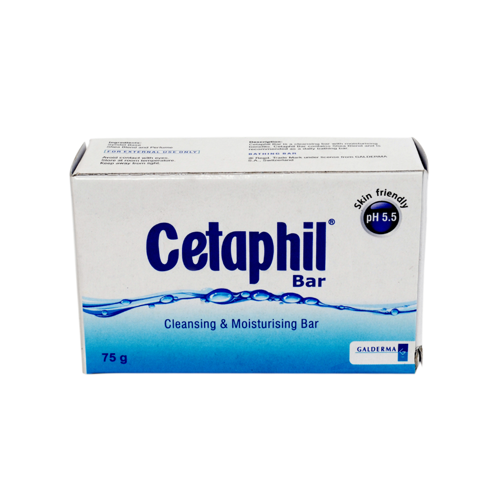 CETAPHIL CLEANSING AND MOISTURISING BAR