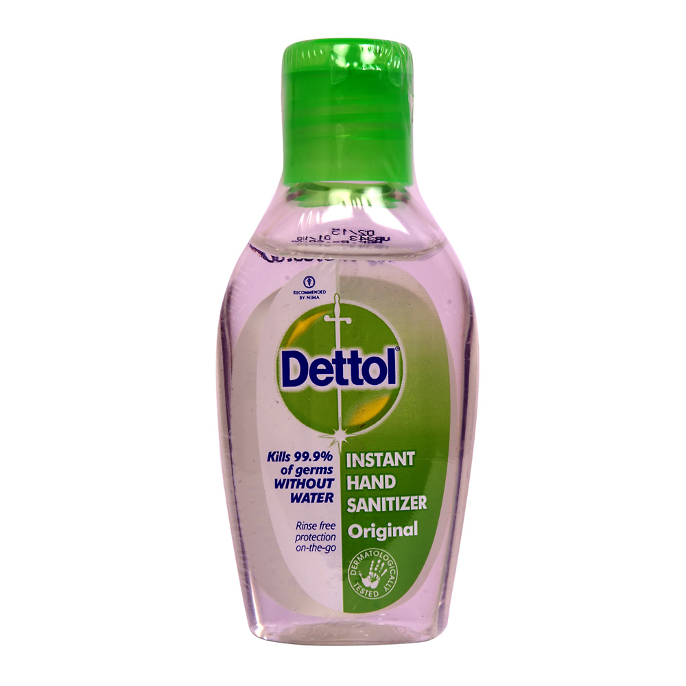 Dettol Original Hand Sanitizer 50ml Series Package