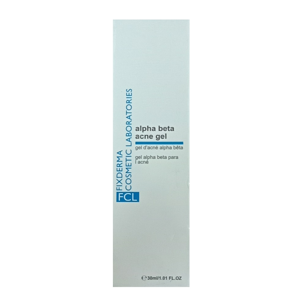 FIXDERMA ALPHA BETA ACNE GEL 30ML