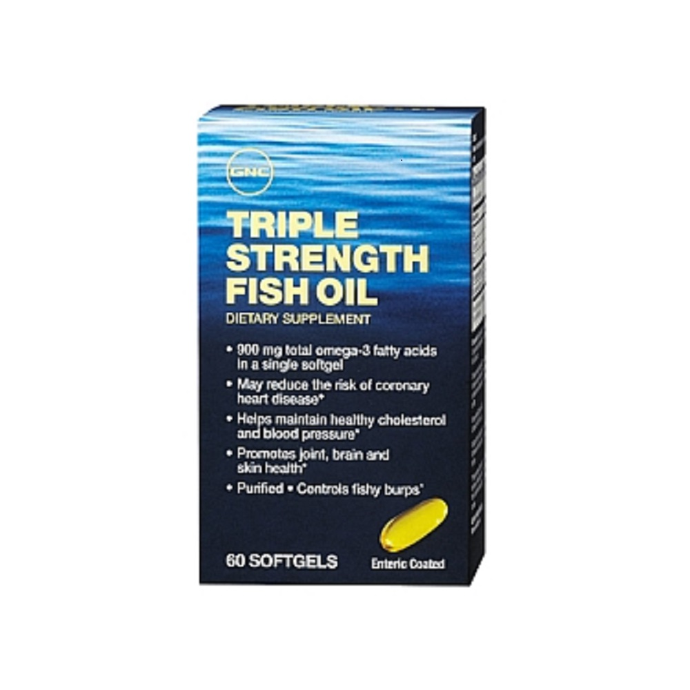 Gnc triple strength fish oil capsule for Benefits of fish oil weight loss
