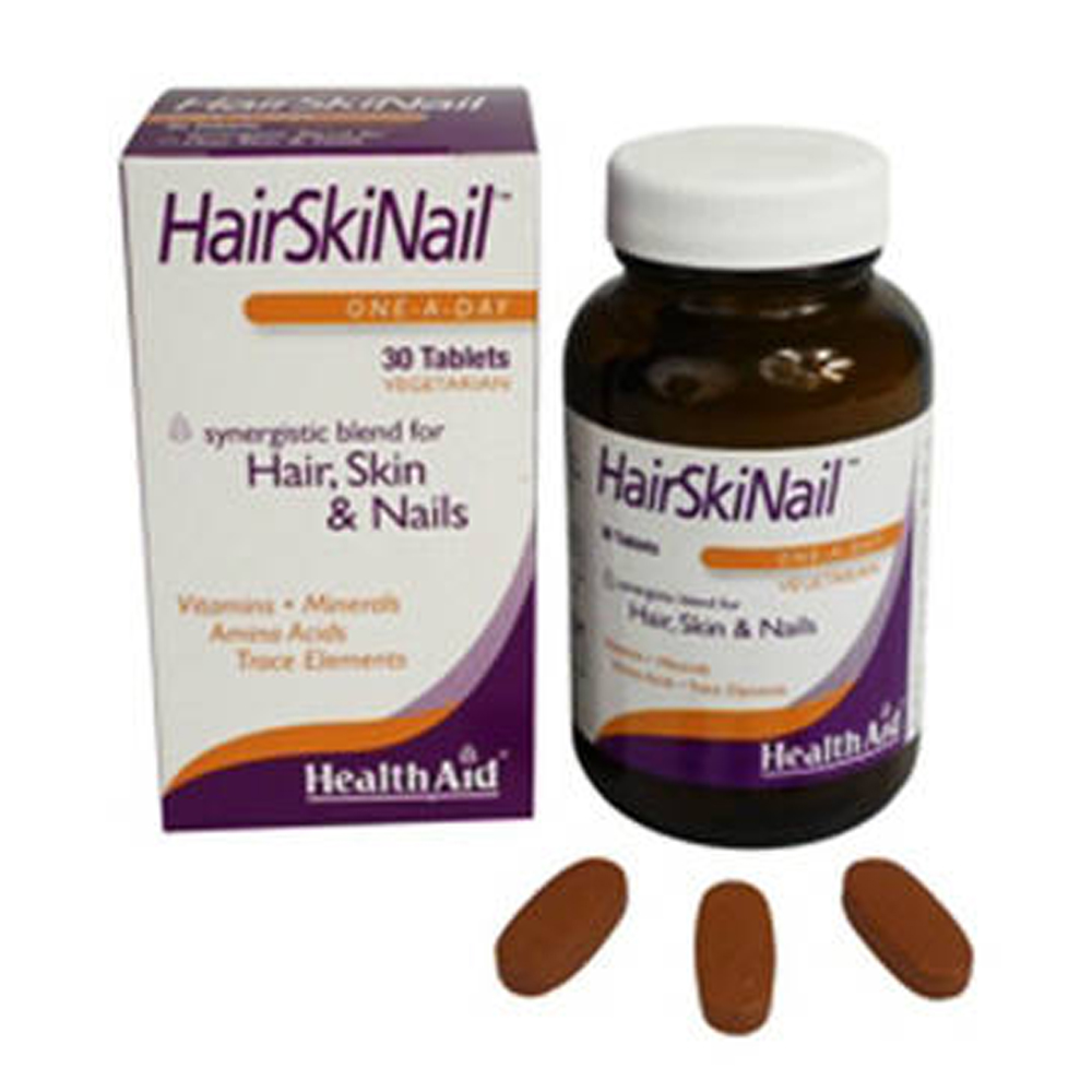 HEALTHAID HAIR SKIN & NAIL TABLETS