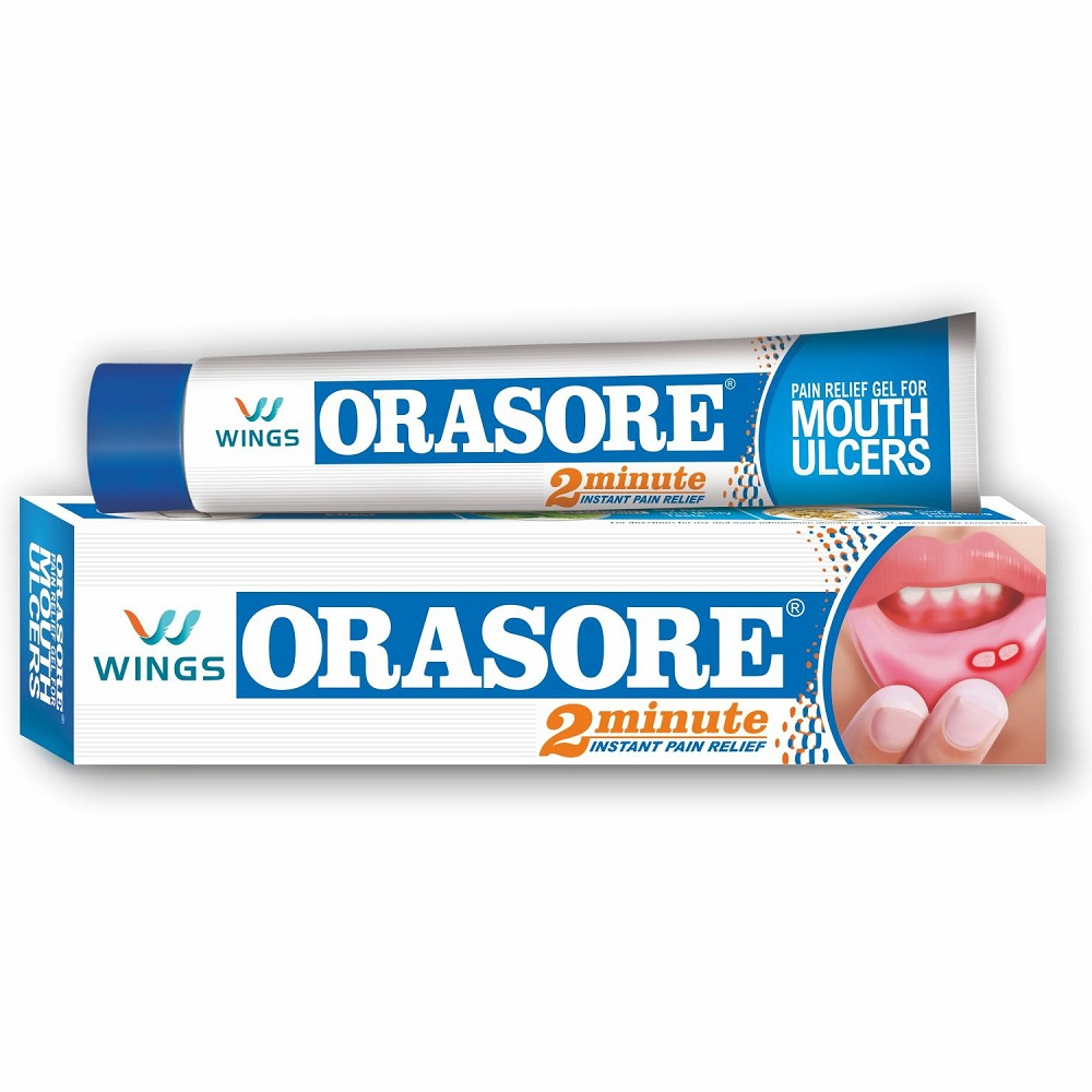 ORASORE MOUTH ULCER RELIEF GEL 12GM