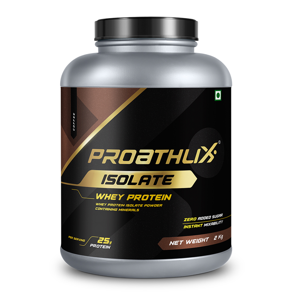 PROATHLIX WHEY ISOLATE PROTEIN COFFEE 2KG