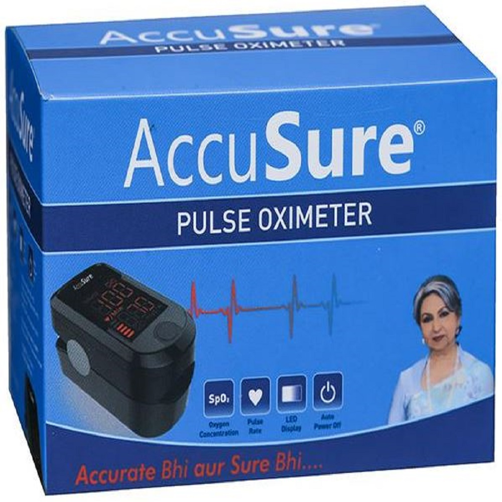 ACCUSURE FINGER PULSE OXIMETER