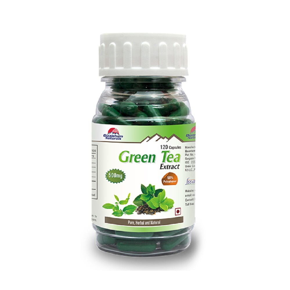 QUANTO GREEN TEA 500MG CAPSULES