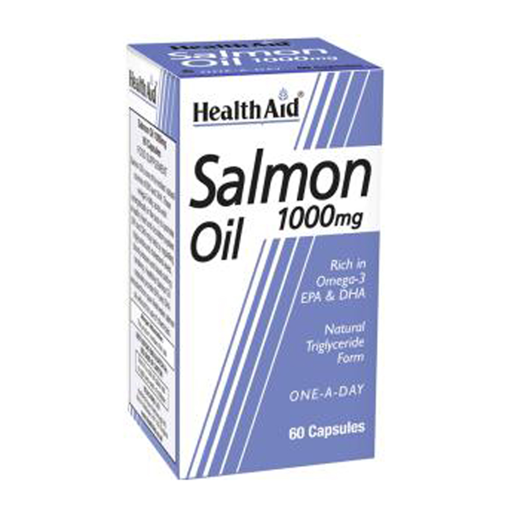 HEALTHAID SALMON OIL 1000MG CAPSULE