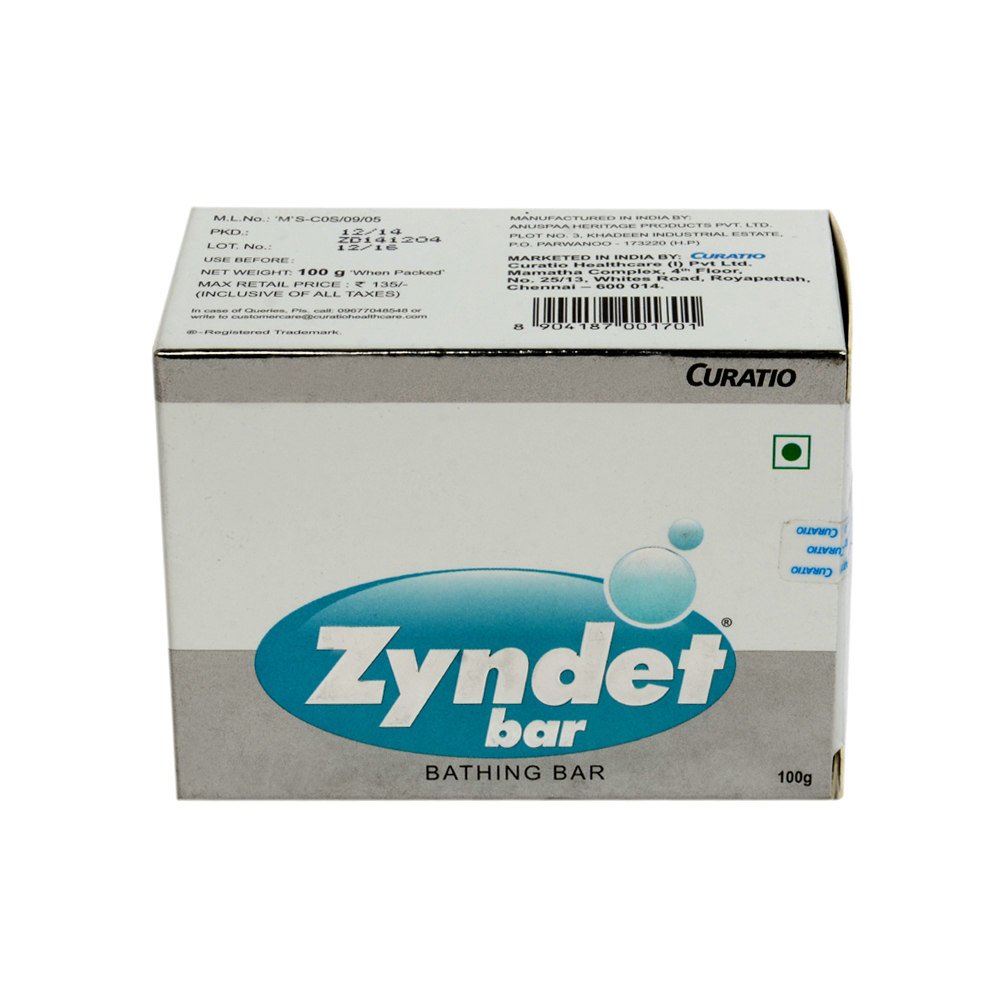 ZYNDET BATHING BAR 150GM