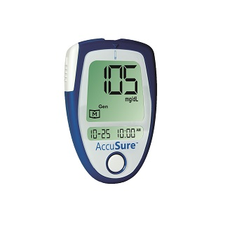 ACCUSURE BLOOD GLUCOSE MONITOR