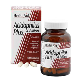 HEALTHAID ACIDOPHILUS PLUS 4 BILLION CAPSULE