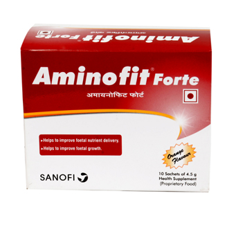 AMINOFIT FORTE 4.5GM SACHET {PACK OF 10}