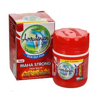 AMRUTANJAN MAHA STRONG PAIN BALM 8ML