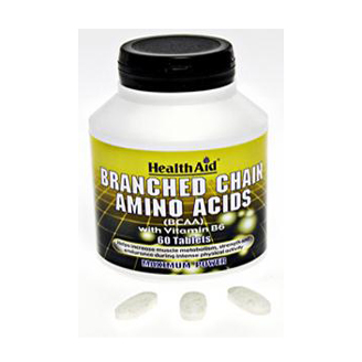 HEALTHAID BRANCHED CHAIN AMINO ACID TABLET