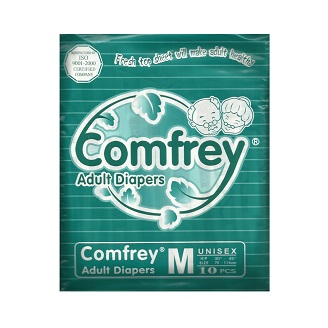 COMFREY ADULT DIAPERS MEDIUM (1X10Pcs)
