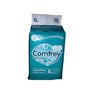COMFREY ADULT DIAPERS XL (1X10Pcs)