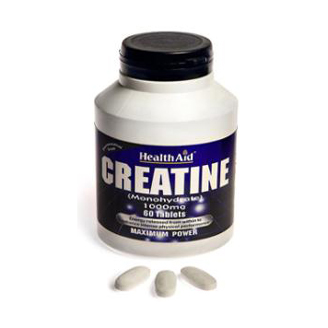 HEALTHAID CREATINE (MONOHYDRATE) 1000MG TABLET