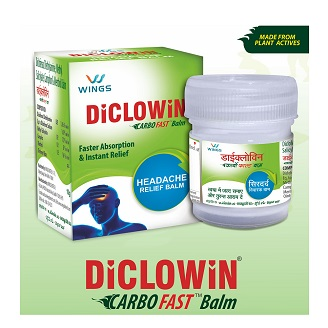 DICLOWIN HEADACHE RELIEF BALM 10GM
