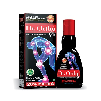 DR ORTHO AYURVEDIC MEDICINAL OIL 120ML