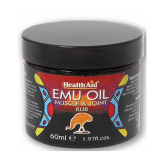 HEALTHAID EMU OIL (MUSCLE AND JOINT RUB)