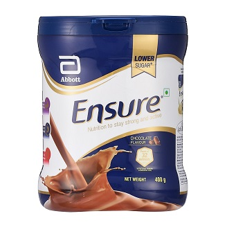 ENSURE CHOCOLATE POWDER 400GM