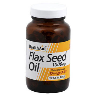 Health Aid Flaxseed (Linseed) Oil 1000Mg 60 Capsules