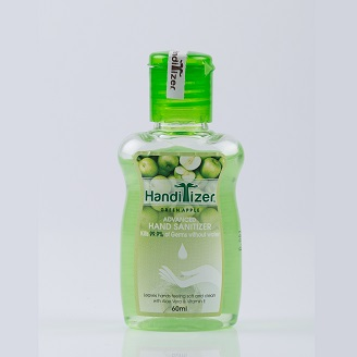 HANDITIZER GREEN APPLE ADVANCED HAND SANITIZER