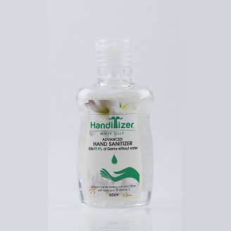 HANDITIZER WHITE LILLY ADVANCED HAND SANITIZER
