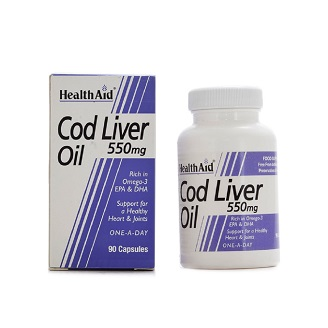 HEALTHAID COD LIVER OIL 550MG CAPSULE 90's