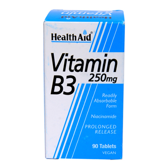 HEALTHAID VITAMIN B3 250MG TABLET