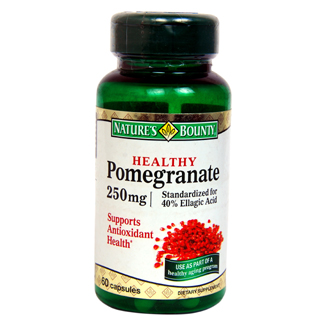 HEALTHY POMEGRANATE 250MG CAPSULES