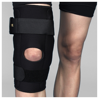 AKTIVE ORTHO'S HINGED KNEE SUPPORT (FRONT OPEN)