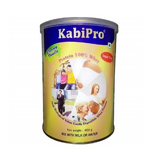KABIPRO CREAMY VANILLA POWDER 400GM