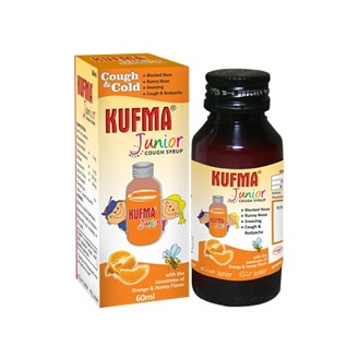 KUFMA JUNIOR COUGH SYRUP 60ML