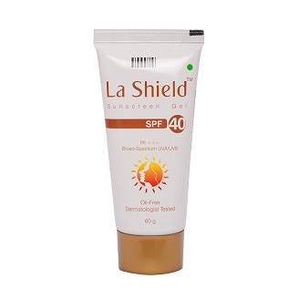 LA SHIELD SUNSCREEN SPF 40 GEL 60GM