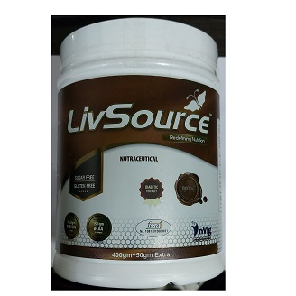 LIVSOURCE POWDER CHOCOLATE 400GM