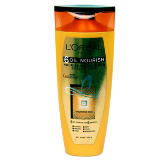 LOREAL PARIS 6-OIL NOURISH SHAMPOO 175 ML
