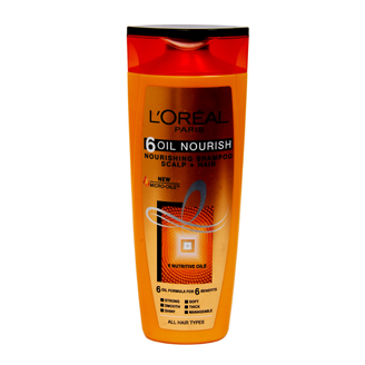 LOREAL PARIS 6-OIL NOURISH SHAMPOO 360 ML