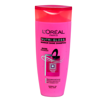 LOREAL PARIS NUTRI GLOSS MIRROR SHINE SHAMPOO 175ML
