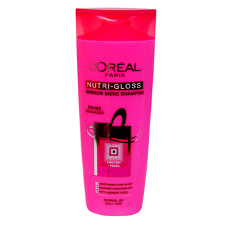 LOREAL PARIS NUTRI GLOSS MIRROR SHINE SHAMPOO 360ML