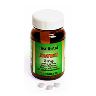 HEALTHAID MELATONIN 3MG TABLET