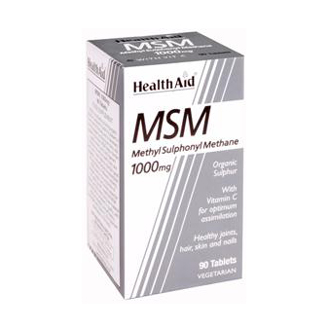 HEALTHAID MSM 500MG TABLET
