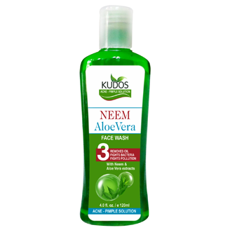 KUDOS NEEM & ALOEVERA PURIFYING FACE WASH