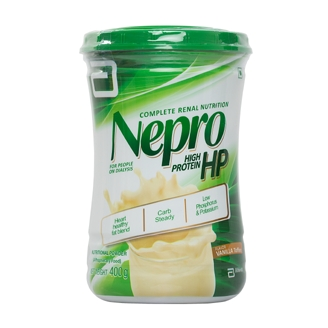 NEPRO HP VANILLA 400GM POWDER