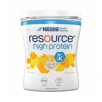 NESTLE RESOURCE HIGH PROTEIN VANILLA 400GM