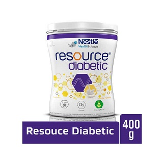 NESTLE RESOURCE DIABETIC POWDER VANILLA 400GM