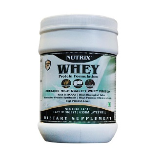 NUTRIX WHEY PROTEIN POWDER 500GM