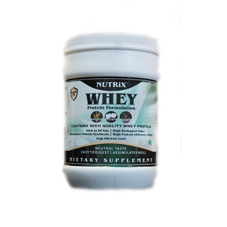 NUTRIX WHEY PROTEIN 1KG POWDER