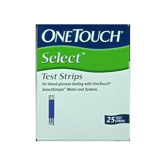 ONE TOUCH SELECT STRIPS 25'S