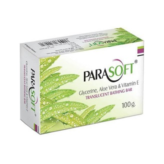 PARASOFT BATHING BAR 100GM