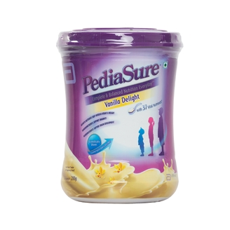 PEDIASURE VANILLA DELIGHT POWDER 200GM