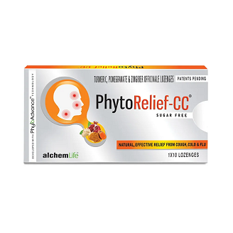 PHYTORELIEF CC SUGARFREE LOZENGES